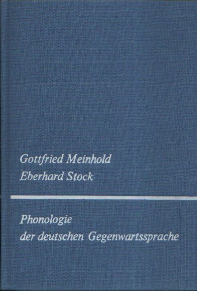Phonologie der deutschen Gegenwartssprache