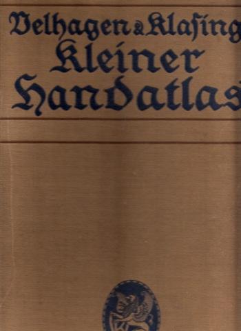 Velhagen & Klasings Kleiner Handatlas in 100 Kartenseiten
