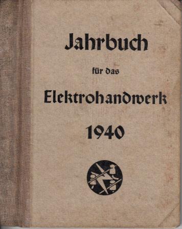 Jahrbuch für das Elektrohandwerk 1940