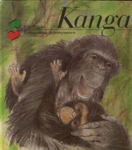 Kanga - Ein Tag im Leben eines Schimpansen Illustrationen von Dieter Müller