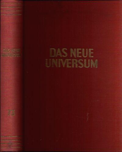 Das neue Universum Band 73 Forschung- Wissen- Unterhaltung - Ein Jahrbuch