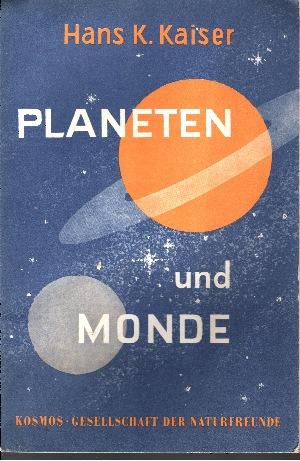 Planeten und Monde