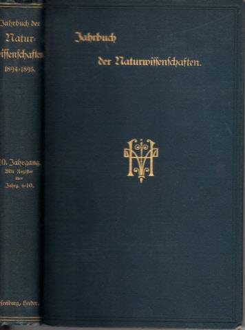 Jahrbuch der Naturwissenschaften 1894-1895 und 1895-1896