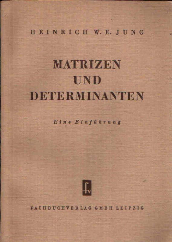 Matrizen und Determinanten Eine Einführung