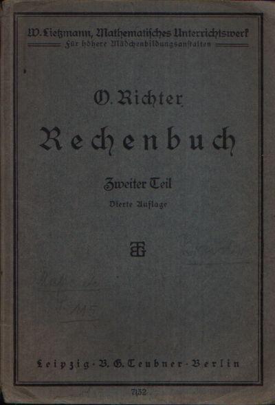 Rechenbuch Zweiter Teil