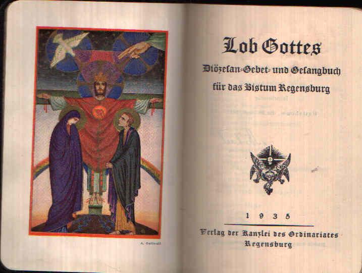 Lob Gottes Diözesan-Gebet- und Gesangbuch für das Bistum Regensburg