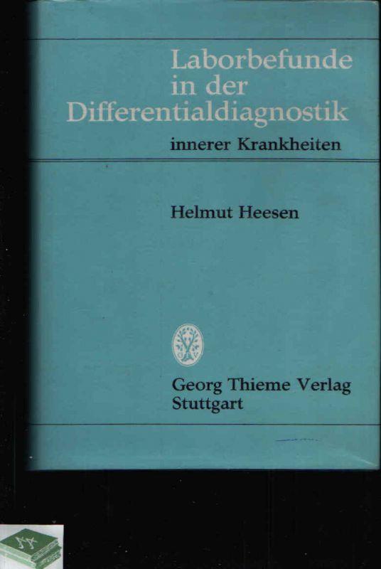 Laborbefunde in der Differentialdiagnostik innerer Krankheiten
