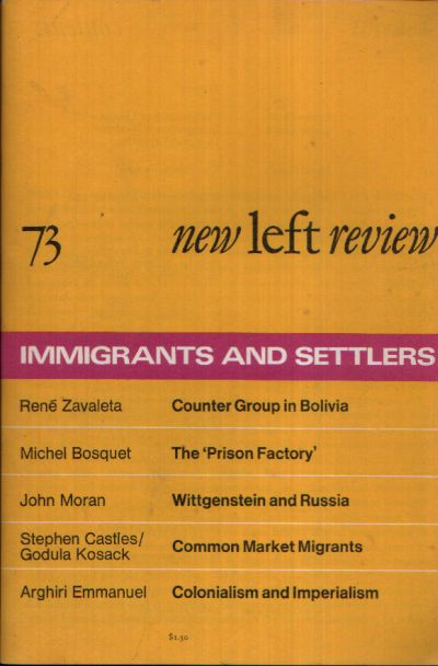 New left review immigrants and settlers