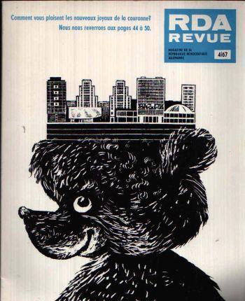 RDA Revue Numero 4 Magazine de la République Démocratique Allemande