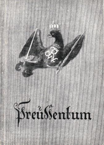 Preußentum herausgegeben vom Luftwaffenführungsstab Ic / VIII