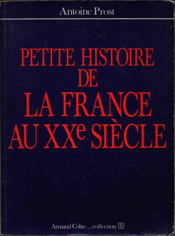 Petite histore de la France au xxe siécle