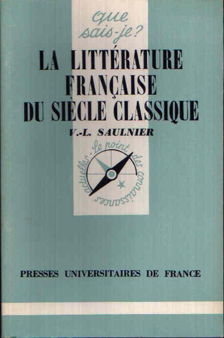 La littérature francaise du siécle classique