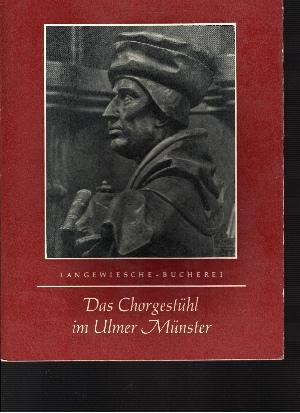 Das Chorgestühl im Ulmer Münster