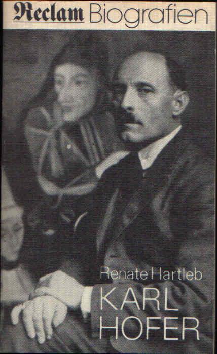 Karl Hofer Reclam Biografien
