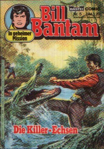 Bill Bantam - Die Killer-Echsen