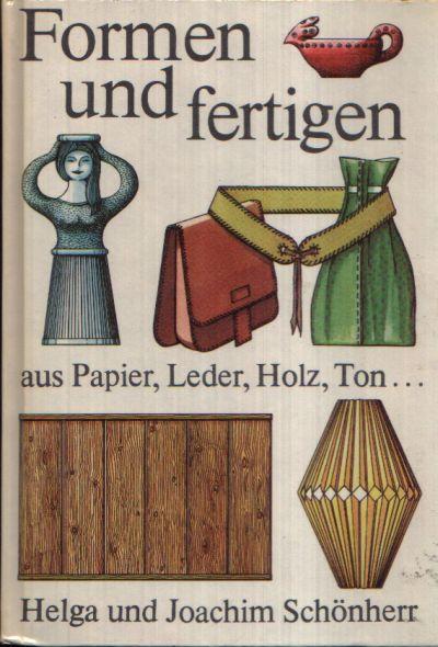 Formen und fertigen Aus Papier, Leder, Holz, Ton ...