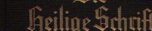 Die Bibel oder die ganze heilige Schrift des Alten und Neuen Testaments nach der deutschen Übersetzung Dr. Martin Luthers