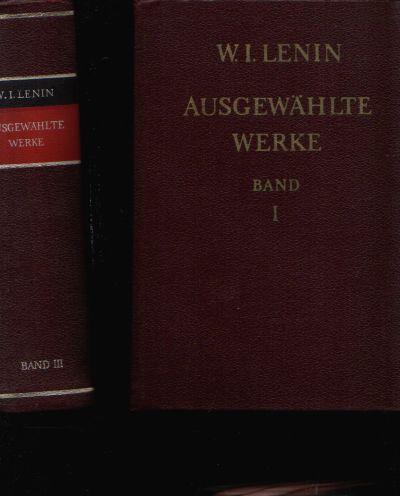 Ausgewählte Werke in drei Bänden - Band 1, 2 und 3