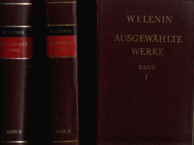 Ausgewählte Werke in drei Bänden - Band 1 bis 3