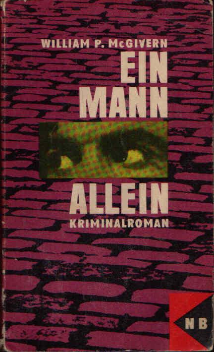 Ein Mann allein Kriminalroman