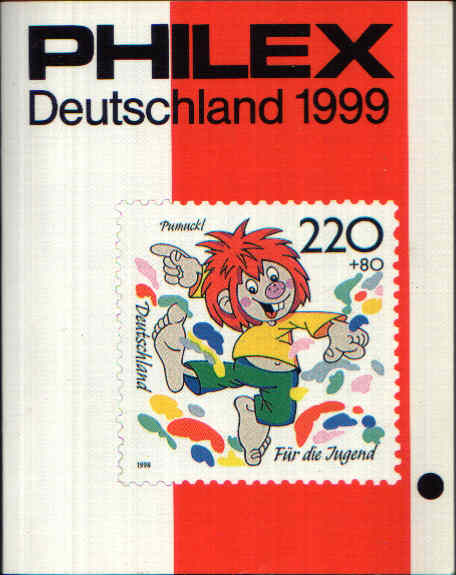 Philex Deutschland 1999 Deutschland Briefmarken-Katalog 1999