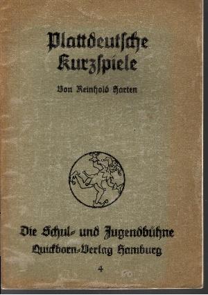 Plattdeutsche Kurzspiele