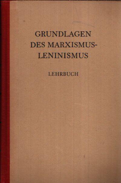 Grundlagen des Marxismus-Leninismus