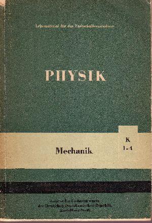 Physik K1 bis 4 - Mechanik