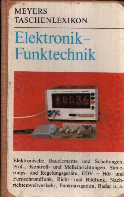 Elektronik - Funktechnik Meyers Taschenlexikon