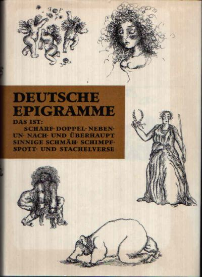 Deutsche Epigramme aus vier Jahrhunderten