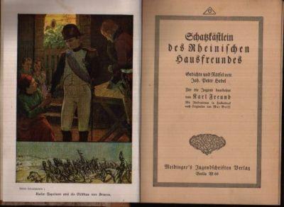 Schatzkästlein des Rheinischen Hausfreundes Gedichte und Rätsel von Joh. Peter Hebel