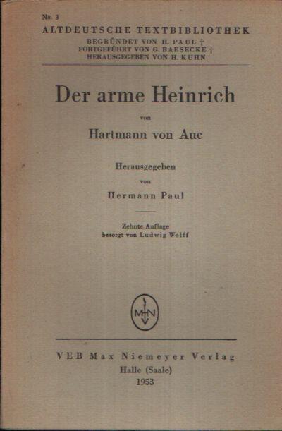 Der arme Heinrich von Hartmann von Aue