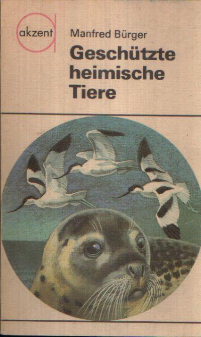 Geschützte heimische Tiere Illustrationen von Reiner Zieger