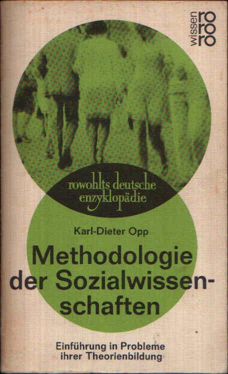 Methodologie der Sozialwissenschaften Einführung in Probleme ihrer Theorienbildung