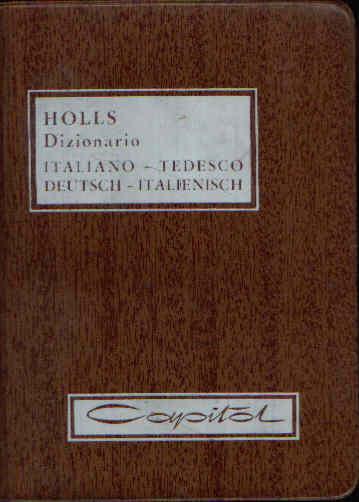 Dizionario Italiano - Tedesco; Deutsch - Italienisch