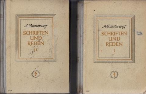 Schriften und Reden in zwei Bänden - 1. + 2. Band
