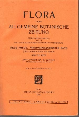 Flora oder Allgemeine Botanische Zeitung (24. Band - Drittes Heft)