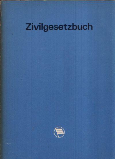 Zivilgesetzbuch der Deutschen Demokratischen Republik