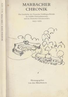 Marbacher Chronik - Deutsches Literaturarchiv Verzeichnisse Berichte Informationen 8