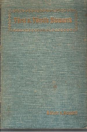 Fürst und Fürstin Bismarck - Erinnerungen aus den Jahren 1846 bis 1872
