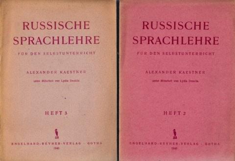 Russische Sprachlehre für den Selbstunterricht Heft 2 und 3