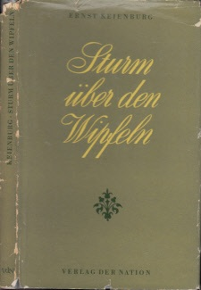 Sturm über den Wipfeln - Erzählung um Carl Maria von Weber Umschlag uund Einband Hans-Joachim Schauß