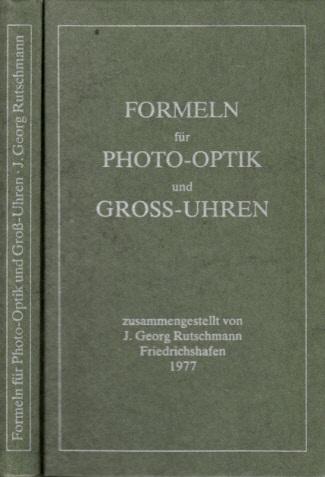 Formeln für Photo-Optik und Gross-Uhren