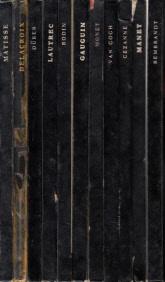Kleine Serie großer Künstler: Rembrandt - Manet - Cezanne - Van Gogh - Monet - Gauguin - Rodin - Toulouse Lautrec - Dürer - Delacroix - Matisse 11 Bücher