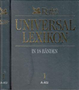 Reader`s Digest Universal-Lexikon in 18 Bänden - Band 1: A bis ASI