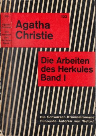 Die Arbeiten des Herkules - Band 1 die schwarzen Kriminalromane Nr. 103