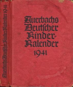 Auerbachs Deutscher Kinder-Kalender 1941