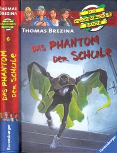 Das Phantom der Schule - Krimiabenteuer Nr. 6 Mit Illustrationen von Jan Birck