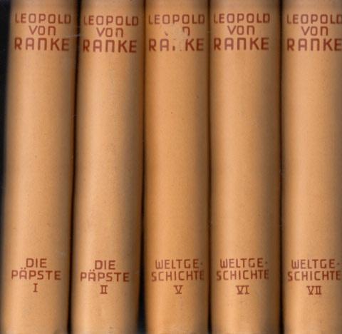 Historische Meisterwerke Weltgeschichte - Die Päpste Band I, II, V, VI, VII 5 Bände