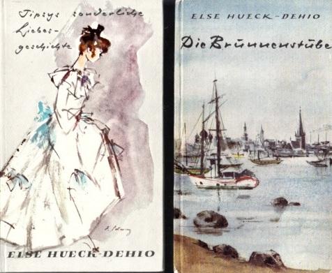 Die Brunnenstube - Tipsys sonderliche Liebesgeschichte 2 Bücher - Salzers Volksbücher Nr. 43 + 62